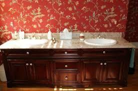 cherry wood vanity