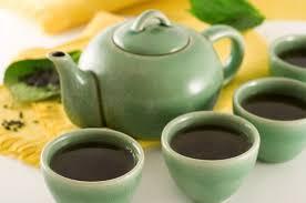 green tea teapot
