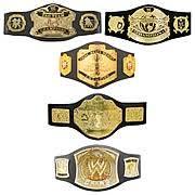 all wwe championship belts