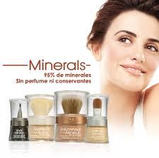 maquillajes minerales