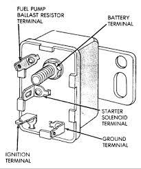 starter motor relay