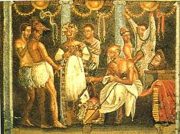 ancient roman theatre costumes