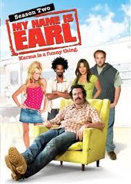 my name is earl season 2 dvd