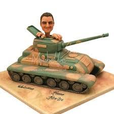 tank birthday cakes
