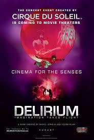 delirium cirque du soleil