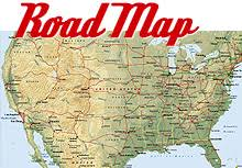 mapa carreteras usa