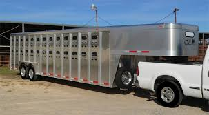 gooseneck cattle trailers