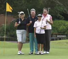 pictures of lady golfers