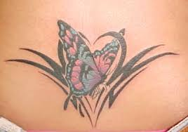 color tribal tattoos