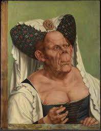 old woman dress