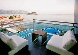 hotel with balcony