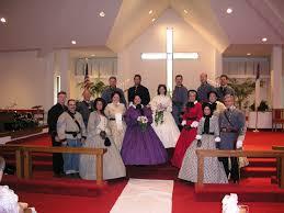 civil war wedding