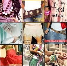 collage of fashion