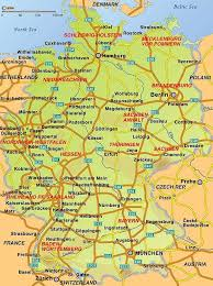 map duitsland
