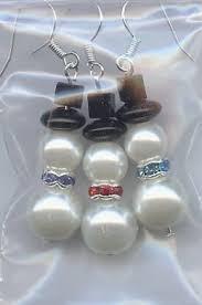 bead snowman