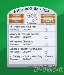 bad dog screensaver