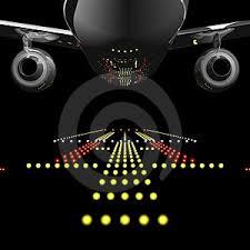 runway lights