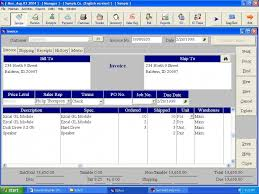 accounting invoice
