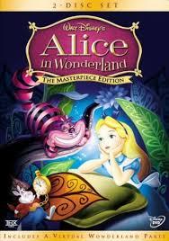 alice wonderland dvd