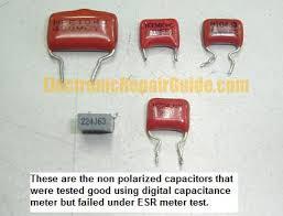 non polarized capacitor