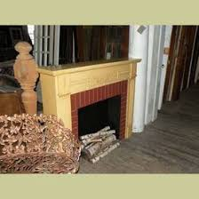 colonial fireplace mantels