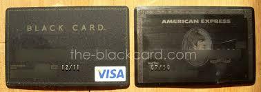 american express black centurion card