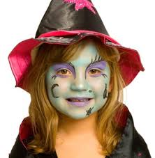 face paint witch