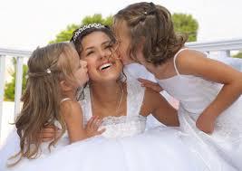 bride hair and make up