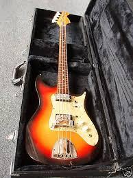 eko bass guitars
