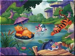 kids pooh