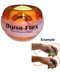 Dynaflex Power Ball Amber Gyro