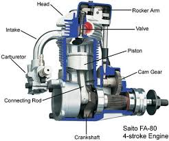 gas rc engine