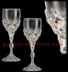 pewter glassware