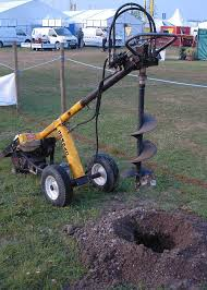 hydraulic auger