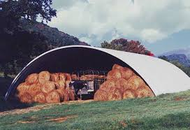 hay shelters