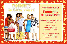 highschool musical party