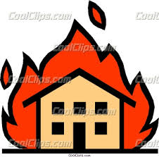 house on fire picture
