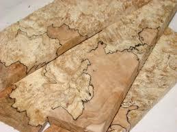 spalted maple hardwood