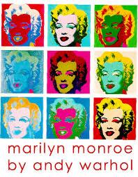 pop art marilyn monroe