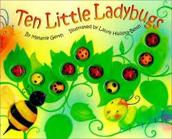 10 little lady bugs