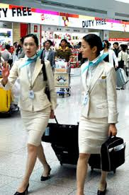 air canada stewardess