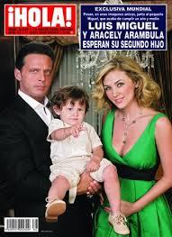aracely arambula y su hijo