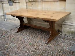 medieval trestle table