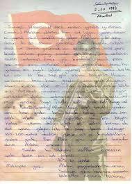 askere mektup