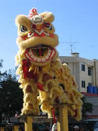 chinese lion heads
