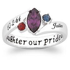 daughter pride ring