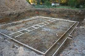 building house foundation