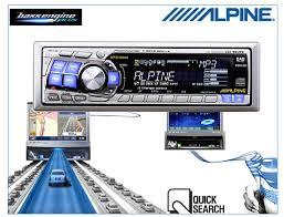 alpine cd radio