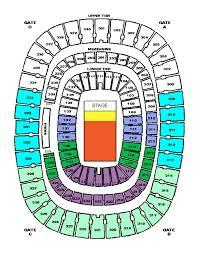 giants stadium seating chart concert