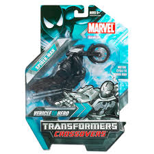 transformers crossover spiderman